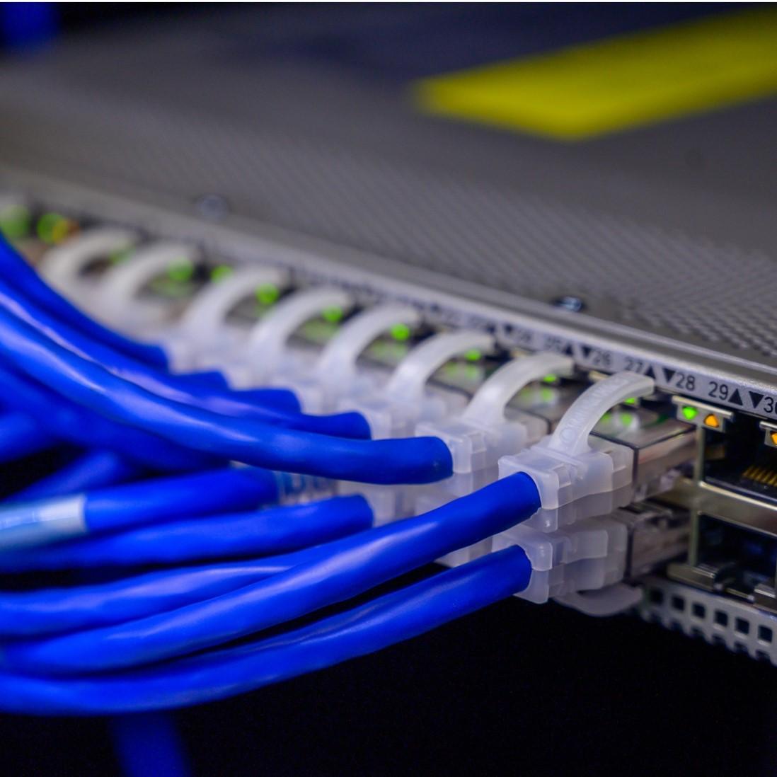 IT-Infrastruktur in einem Unternehmen