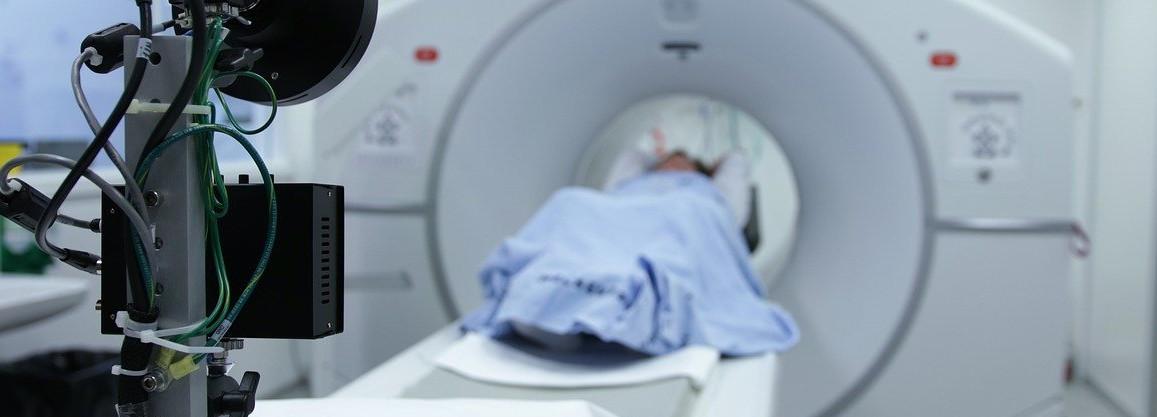 Kernspintomograph im Einsatz